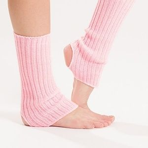 Ankle Warmers light pink